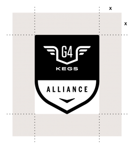 g4kegs-alliance-badge-use-clear-space